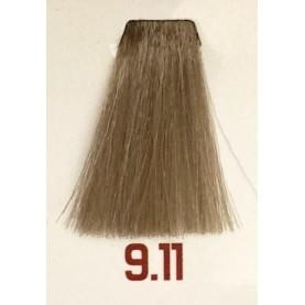 9.11 - Очень светлый интенсивный пепельный блондин