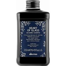 Шампунь для блеска и защиты блонда Davines Heart of Glass Silkening Shampoo