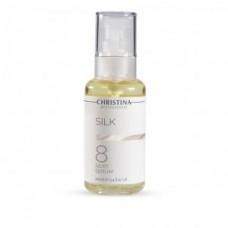 Шелковая сыворотка для разглаживания морщин шаг 8 Cristina Silk My Silky Serum