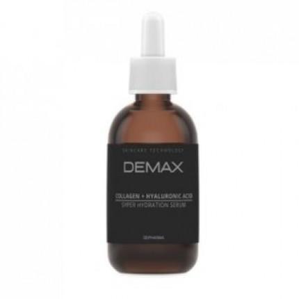 Сыворотка Коллаген + Гиалуроновая кислота Demax Serum Collagen P + Hyaluronic Acid 50 мл
