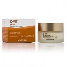 Увлажняющий крем против морщин SesDerma C – Vit - Moisturizing Facial Cream