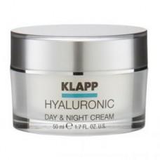 Крем Гиалуроник день-ночь Klapp Hyaluronic Day & Night Cream