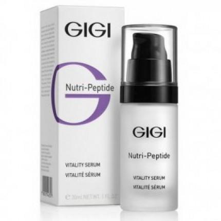 Пептидная оживляющая сыворотка GiGi Vitality Serum Nutri Peptide