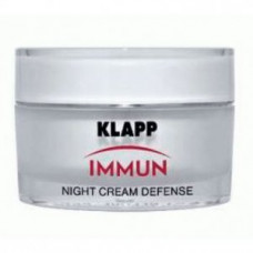 Крем ночная защита Klapp Immun Night Cream Defense