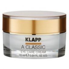 Крем для век витамин А Klapp A Classic Eye Care Cream