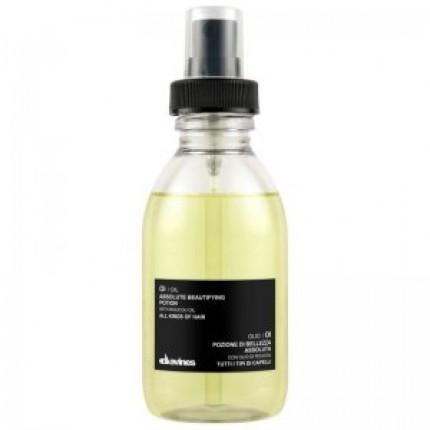 Масло абсолютной красоты для смягчения волос Davines OI/Oil absolute beautifying potion