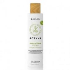 Защитный крем с комплексом создания связей (несмываемый) Kemon Actyva Nuova Fibra Cream BCC