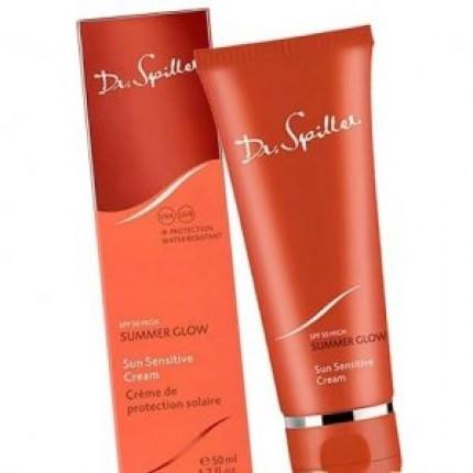 Солнцезащитный крем SPF 50 Dr.Spiller SUMMER GLOW Sun Sensitive Cream 50 мл