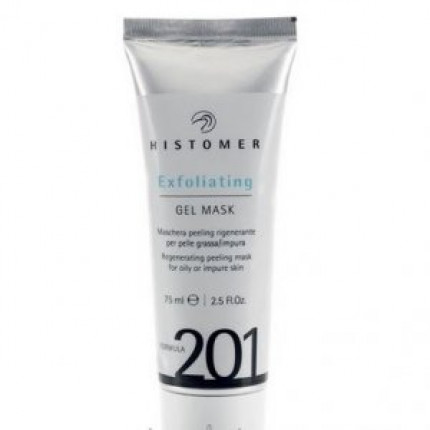 Гелевая маска-эксфолиант Histomer Formula 201 Exfoliating Gel Mask 75 мл