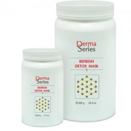 Детокс-маска с мгновенным оживляющим эффектом Derma Series Refresh detox mask 400 гр