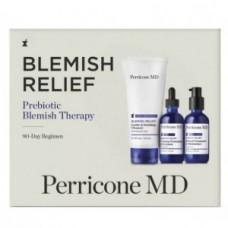 Набор для проблемной кожи Perricone MD Blemish Relief Prebiotic Blemish Therapy 90-Day Regimen Kit