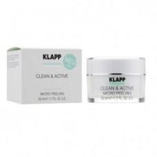 Базовый микропилинг для лица Klapp Clean & Active Micro Peeling