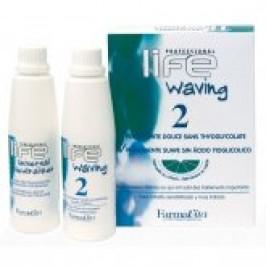 Биозавивка с запахом цитруса для поврежденных волос Farmavita Life Waving 2