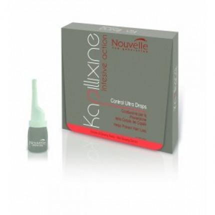 Nouvelle Kapillixine Ultra Drops средство против выпадения волос с экстрактом красного женьшеня