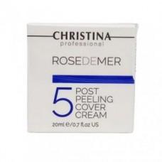 Постпилинговый тональный защитный крем шаг 5 Christina Rose de Mer Post Peeling Cover Cream