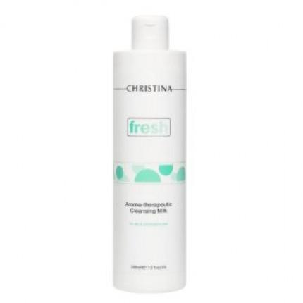 Арома-терапевтическое очищающее молочко для жирной и комбинированной кожи Christina Fresh Aroma-Therapeutic