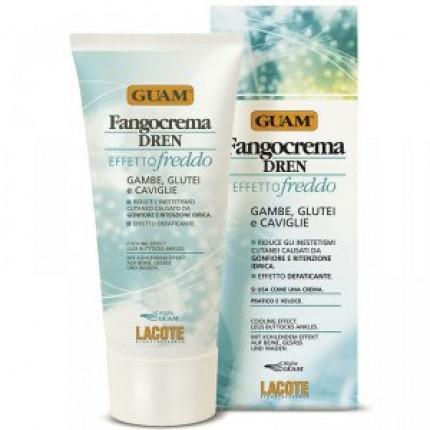 Фанго крем (холодная формула) с дренажным эффектом Guam Fangocrema Dren Effetto Freddo