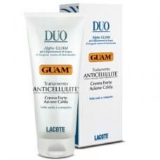 Антицеллюлитный крем с разогревающим эффектом Guam DUO Anticellulite Crema Forte