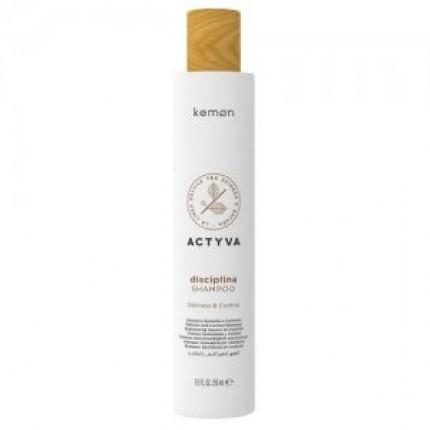 Шампунь для вьющихся и непослушных волос Kemon Disciplina Shampoo