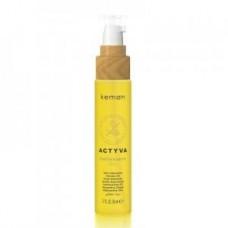 Масло питательное для волос всех типов Kemon Actyva Benessere