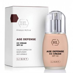 СС крем СПФ-50 светлый Holy Land Age Defense CC Cream SPF-50 light 50 мл