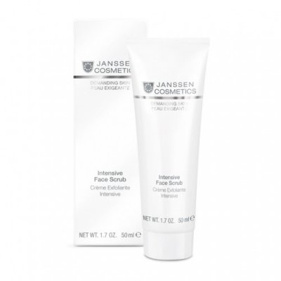 Интенсивный скраб Janssen Demanding Skin Intensive Face Scrub
