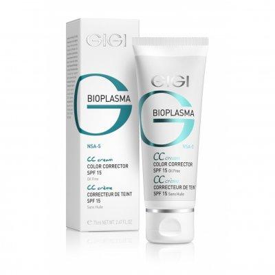Крем для коррекции цвета кожи с SPF 15 GiGi Bioplasma CC Cream 75 мл