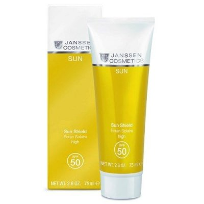 Солнцезащитная эмульсия для лица и тела SPF 50 Janssen Sun Secrets Sun Shield 75 мл