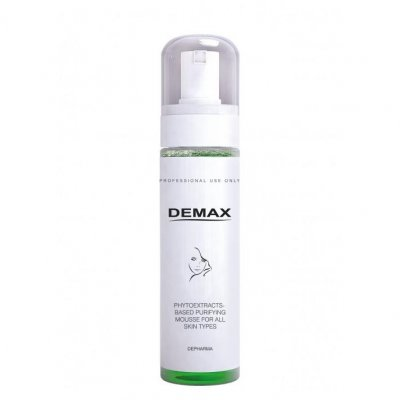 Очищающий мусс для всех типов кожи на основе растительных экстрактов Demax Purifiers And Tonics Cleansing Mousse On Basis Of Medicinal Herbs 150 мл