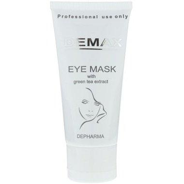 Маска от отеков и темных кругов для орбитальной зоны с экстрактом зеленого чая Demax Eye Mask With Green Tea Extract 50 мл