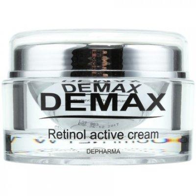Активный крем с ретинолом для обновления и омоложения кожи лица Demax Line Retinol Active Cream 250 мл