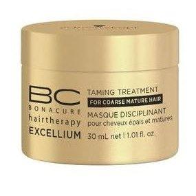 Смягчающая маска для зрелых волос Schwarzkopf BC Excellium Taming Treatment