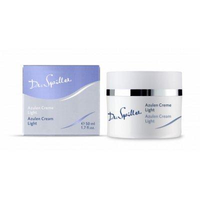 Успокаивающий крем с азуленом легкий Dr.Spiller Azulen Cream Light