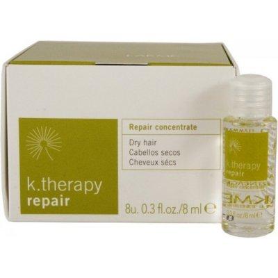 Восстанавливающий концентрат для питания и увлажнения LAKME K.THERAPY REPAIR Concentrate 8*8 мл