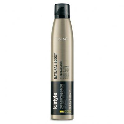 Эластичный мусс для укладки брашингом LAKME K.STYLE Natural Boost 300 мл