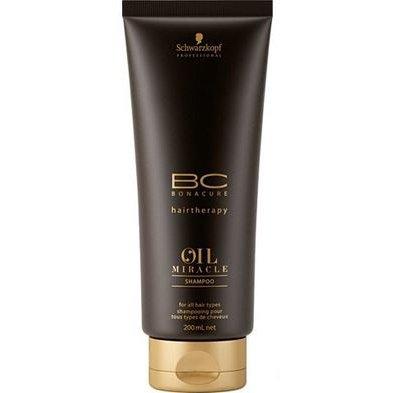 Шампунь с аргановым маслом SCHWARZKOPF BONACURE Oil Miracle Shampoo