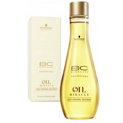 Масло завершающее лечение для тонких и нормальных типов волос Schwarzkopf Oil Miracle Light 100 мл