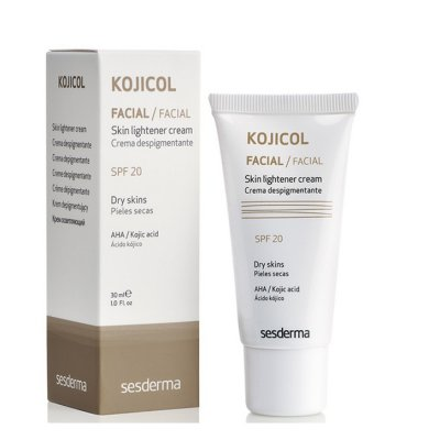 Осветляющий крем с SPF 20 SeSderma Kojicol skin lightener cream SPF 20 30 мл