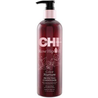 Кондиционер с маслом розы и кератином CHI Rose Hip Oil Protecting Conditioner
