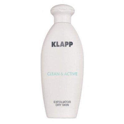 Эксфолиатор для сухой кожи Klapp Clean & Active Exfoliator Dry Skin 250 мл