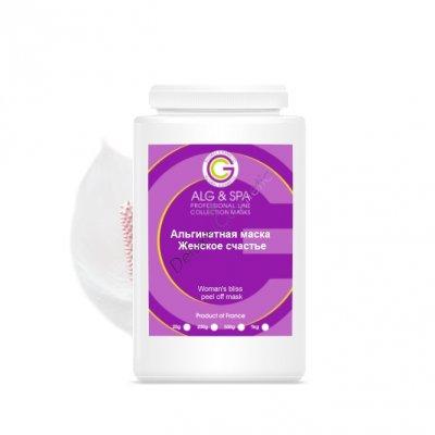 Альгинатная маска против старения кожи лица Женское счастье AlgoMask 200 мл