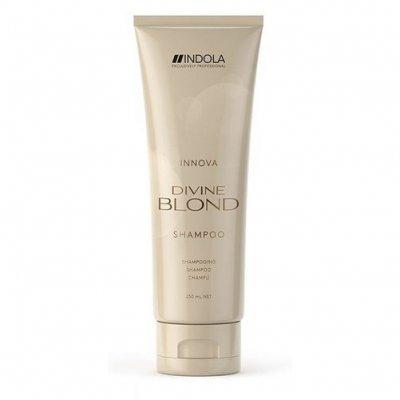 Восстанавливающий шампунь для светлых волос Indola Divine Blond Shampoo