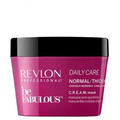 Маска для нормальных и густых волос Revlon Be Fabulous C.R.E.A.M.
