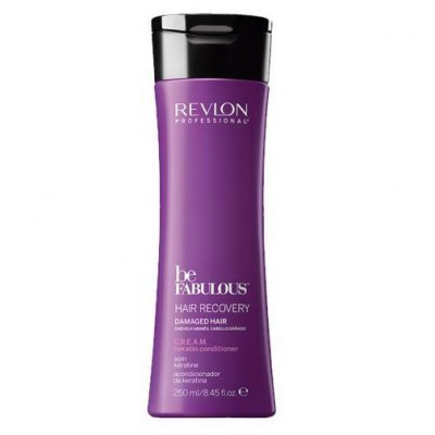 Кондиционер с кератином Revlon Be Fabulous Hair Recovery Keratin Conditioner 250 мл