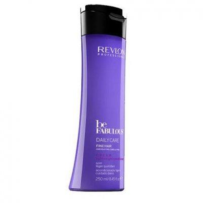 Очищающий шампунь с кератином для тонких волос Revlon Be Fabulous Daily Care Fine Hair Lightweight Shampoo