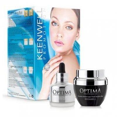 Набор антивозрастной с коэнзимом Q10 Keenwell Optima