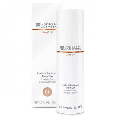 Стойкий тональный крем с эффектом сияния SPF-15 для всех типов кожи Janssen Perfect Radiance Make-up 30 мл