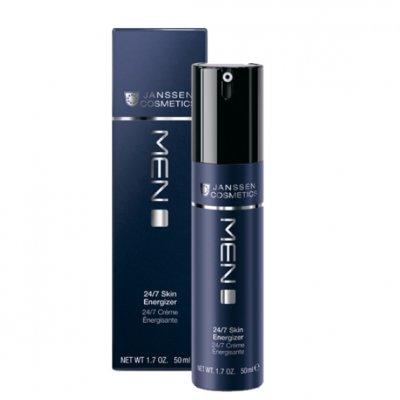 Ежедневный энергонасыщающий гель Janssen Cosmeceutical Men 24/7 Skin Energizer 50 мл