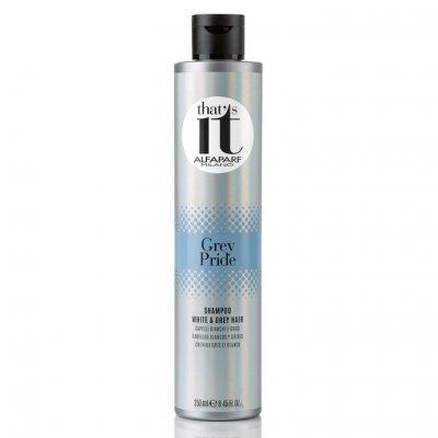 Шампунь для светлых и седых волос Alfaparf Milano That's It Grey Pride Shampoo 250 мл