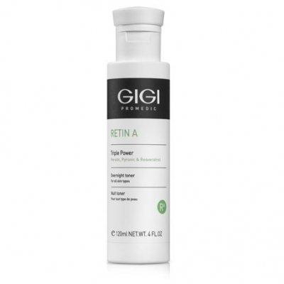 Лосьон ночной мультикислотный для всех типов кожи GiGi Triple Power Overnight Lotion 120 мл